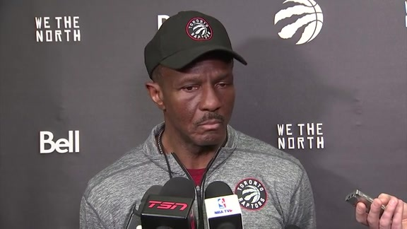 Raptors Shootaround: Dwane Casey - January 13, 2018