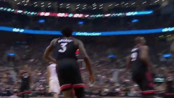 Raptors Highlights: OG's Reverse Slam - January 13, 2018