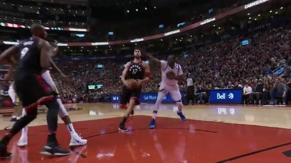 Raptors Highlights: Valanciunas Throwdown - January 13, 2018