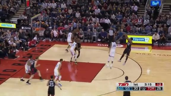 Game Highlights: Warriors at Raptors - January 13, 2018