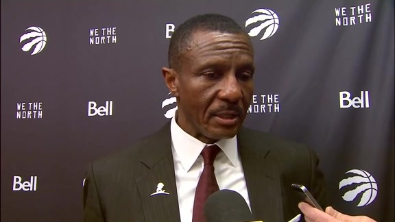 Raptors Post-Game: Dwane Casey - January 15, 2018