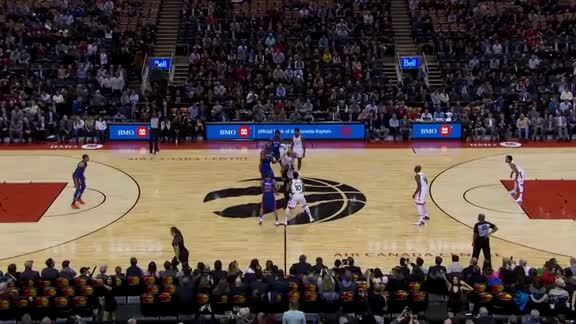 Game Highlights: Pistons at Raptors - January 17, 2018