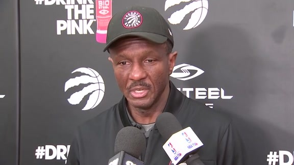 Raptors Practice: Dwane Casey - January 18, 2018