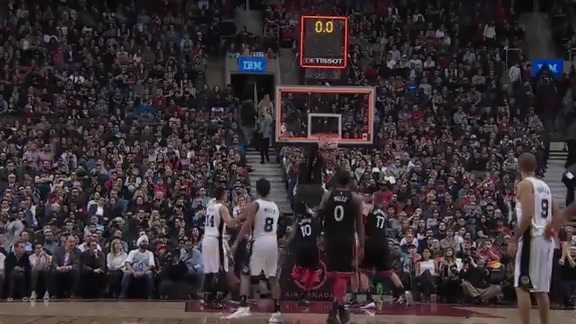 Raptors Highlights: DeRozan Closes First Half - January 19, 2018