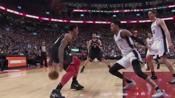 Raptors Highlights: DeRozan And-One - January 19, 2018