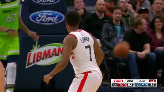 Raptors Highlights: Lowry Drives for 20th - January 20, 2018