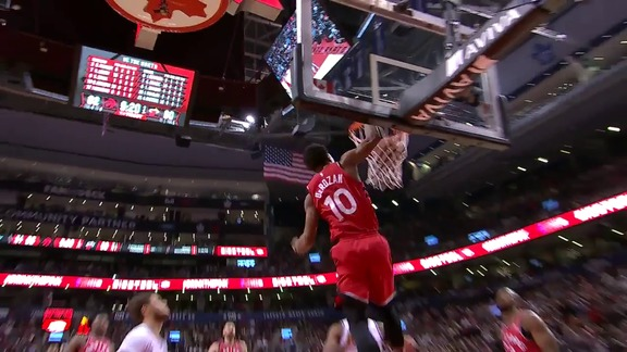 Raptors Highlights: Lowry to DeRozan Alley-Oop - February 13, 2018