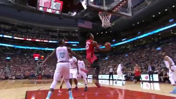 Raptors Highlights: DeRozan And-One - February 13, 2018
