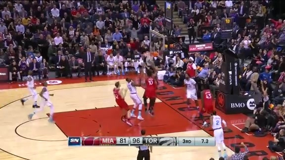 Game Highlights: Heat at Raptors - February 13, 2018
