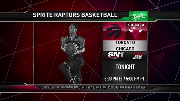 Raptors Game Preview: Toronto at Chicago - February 14, 2018