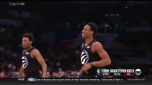 2018 NBA All-Star Game: Turnaround Jumper from DeMar - February 18, 2018