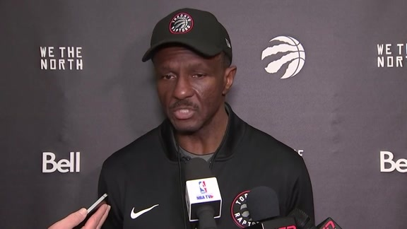 Raptors Shootaround: Dwane Casey - February 23, 2018