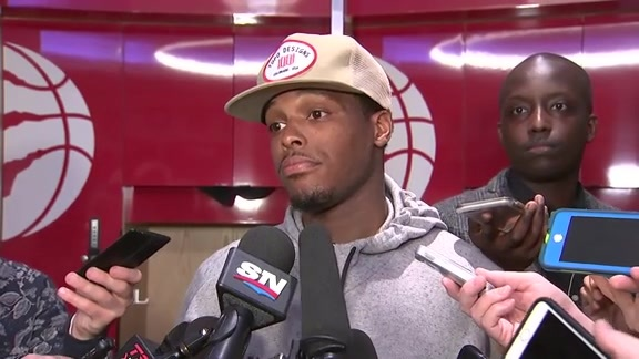 Raptors Post-Game: Kyle Lowry - February 23, 2018
