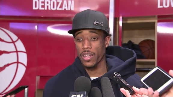 Raptors Post-Game: DeMar DeRozan - February 23, 2018