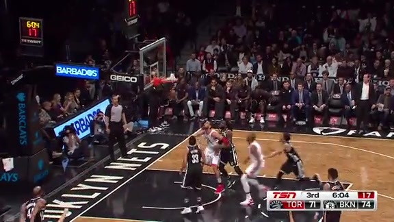Game Highlights: Raptors at Nets - March 13, 2018