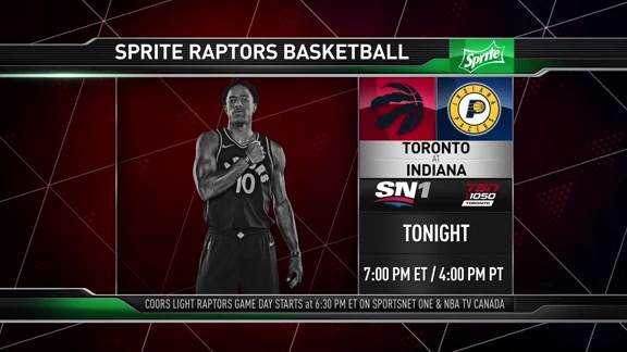 Raptors Game Preview: Toronto at Indiana - March 15, 2018