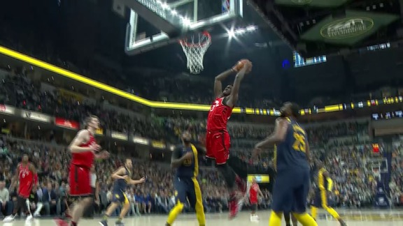 Raptors Highlights: Siakam Fake and Flush - March 15, 2018