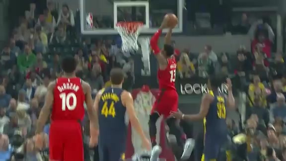 Game Highlights: Raptors at Pacers - March 15, 2018