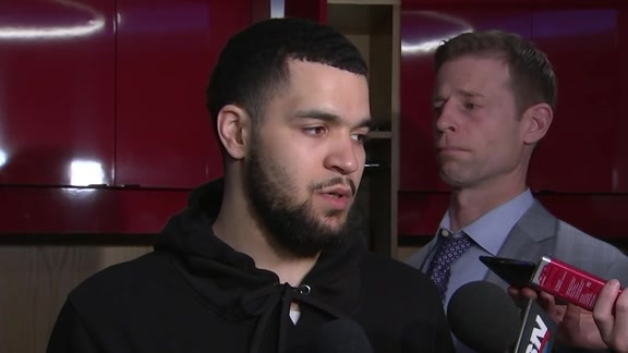 Raptors Post-Game: Fred VanVleet - March 16, 2018