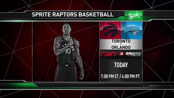 Raptors Game Preview: Toronto at Orlando - March 20, 2018
