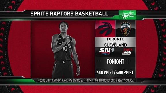 Raptors Game Preview: Toronto at Cleveland - March 21, 2018