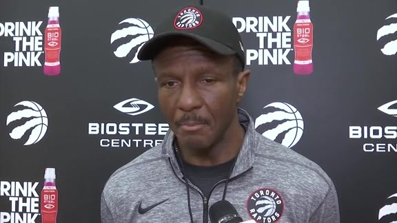 Raptors Practice: Dwane Casey - March 24, 2018