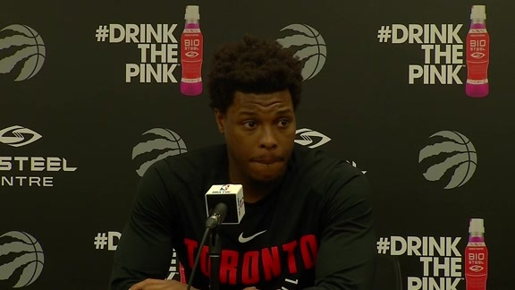 Raptors Practice: Kyle Lowry - April 16, 2018