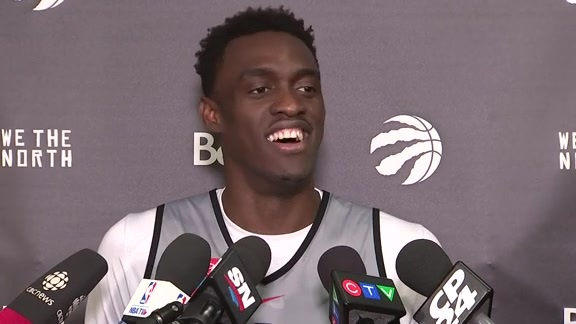 Raptors Shootaround: Pascal Siakam - April 17, 2018