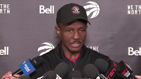 Raptors Shootaround: Dwane Casey - April 17, 2018