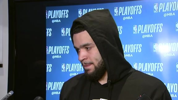 Raptors Post-Game: Fred VanVleet - April 17, 2018