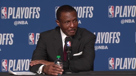 Raptors Post-Game: Dwane Casey - April 17, 2018