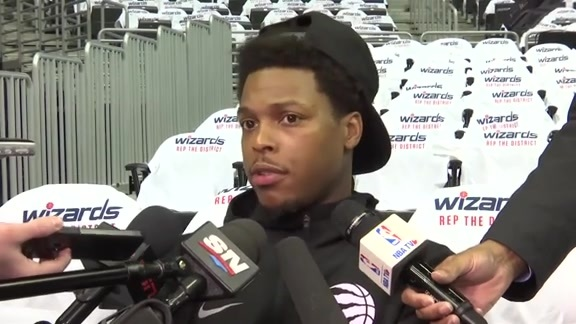 Raptors Shootaround: Kyle Lowry - April 20, 2018
