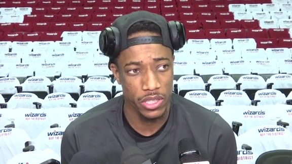 Raptors Shootaround: DeMar DeRozan - April 20, 2018