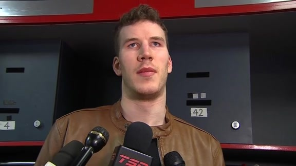 Raptors Post-Game: Jakob Poeltl - April 20, 2018