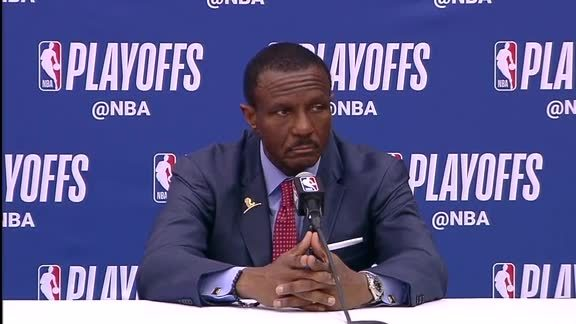 Raptors Post-Game: Dwane Casey - April 20, 2018