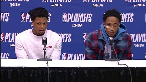 Raptors Post-Game: Kyle Lowry and DeMar DeRozan - April 20, 2018