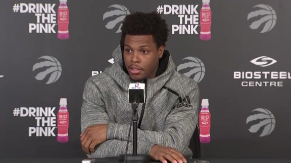 Raptors Practice: Kyle Lowry - April 24, 2018