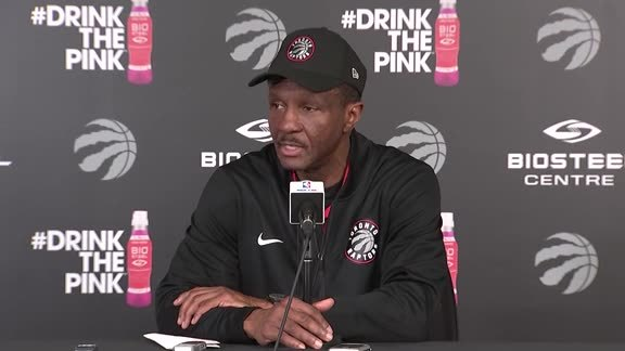 Raptors Practice: Dwane Casey - April 24, 2018