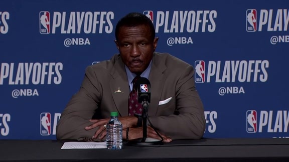 Raptors Post-Game: Dwane Casey - April 25, 2018