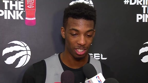 Raptors Practice: Delon Wright - April 26, 2018