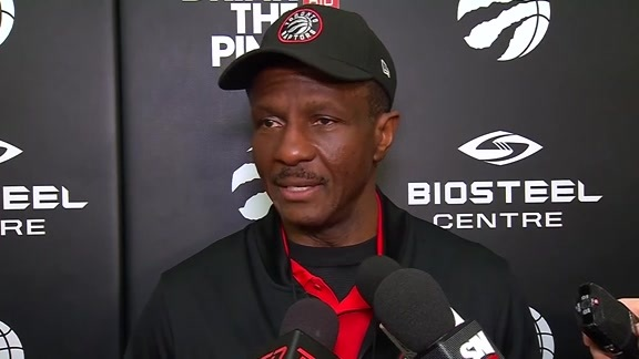 Raptors Practice: Dwane Casey - April 26, 2018