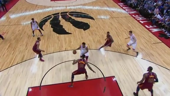 Raptors Highlights: DeRozan And-One - May 1, 2018