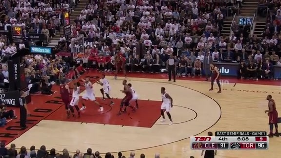 Game Highlights: Cavaliers at Raptors: Game 1 - May 1, 2018