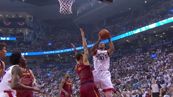 Raptors Highlights: DeRozan And-One - May 3, 2018