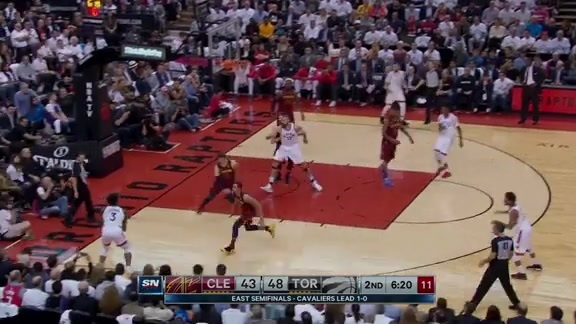 Game Highlights: Cavaliers at Raptors: Game 2 - May 3, 2018