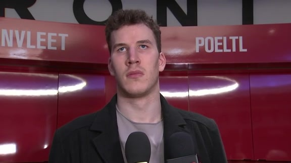 Raptors Post-Game: Jakob Poeltl - May 3, 2018