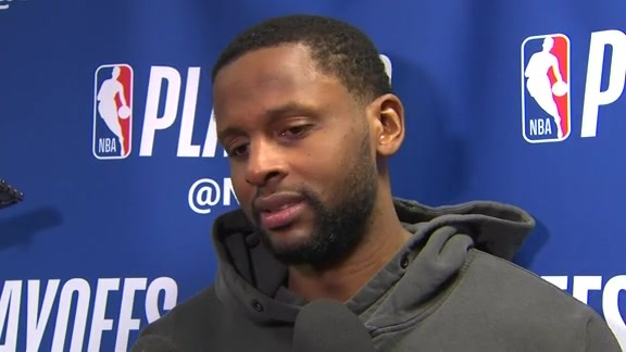 Raptors Post-Game: C.J. Miles - May 5, 2018