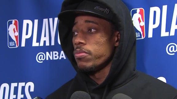 Raptors Post-Game: DeMar DeRozan - May 5, 2018