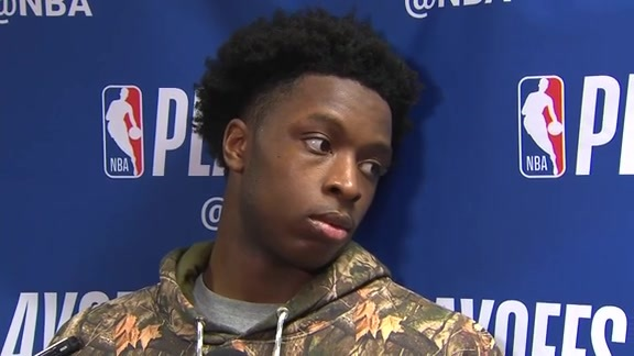 Raptors Practice: O.G. Anunoby - May 5, 2018