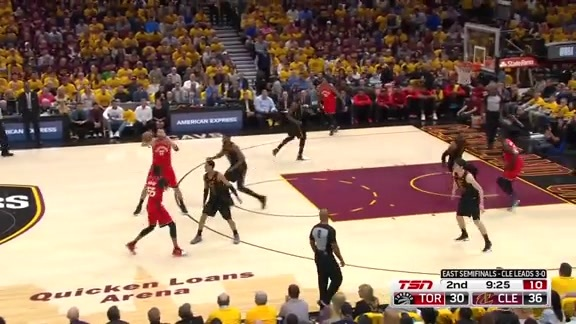 Game Highlights: Raptors at Cavaliers: Game 4 - May 7, 2018